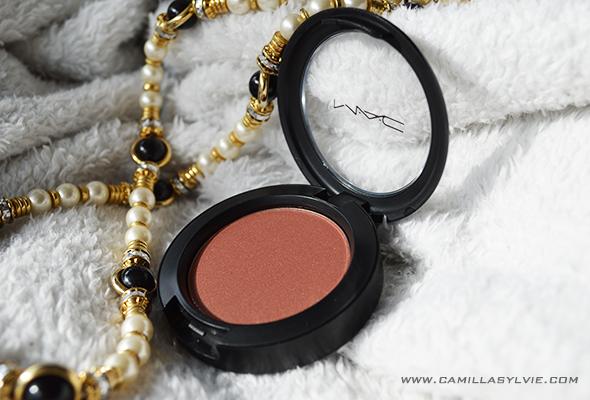 beauty, make-up, blush, MAC