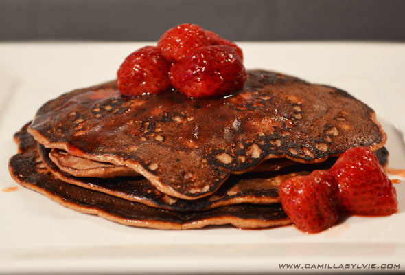 healthy, delicious, protein, chocolate, pancakes, recipe, pancake, fitnessfood, proteinrich